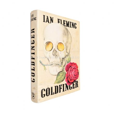 Goldfinger by Ian Fleming First Edition Jonathan Cape 1959